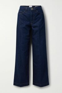 Alice + Olivia - Shannon Pleated Printed Chiffon Maxi Skirt - Blue