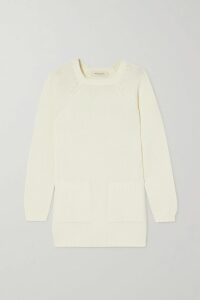 Brunello Cucinelli - Metallic Knitted Turtleneck Sweater - Beige