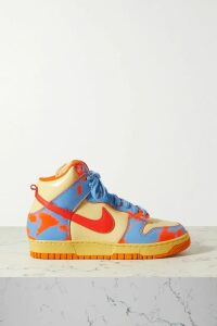 Lucy Folk - Beachside Striped Cotton-blend Shorts - Pink