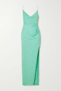 forte forte - Hammered Silk-satin Top - Orange