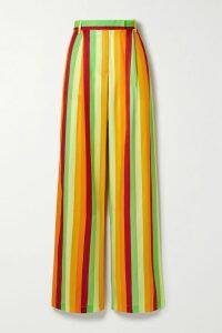 Missoni - Metallic Striped Crochet-knit Mini Skirt - Beige