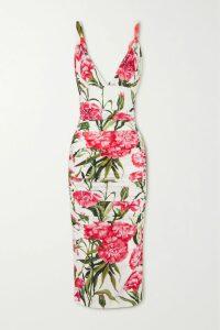 Khaite - Elenora Lace-trimmed Crepe Camisole - Black
