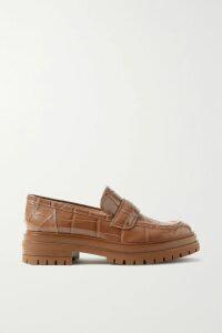 Burberry - Appliquéd Printed Cotton-jersey T-shirt - Black