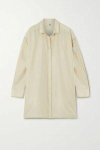 Proenza Schouler - Tie-dyed Slub Cotton-jersey Top - Peach