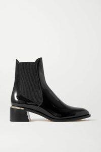 Valentino - + Izumi Miyazaki Gravitation Printed Appliquéd Cotton-blend Jersey Hoodie - Black