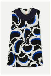 Marni - Printed Crepe Top - Black