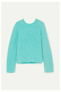 Maison Margiela - Bouclé Sweater - Blue