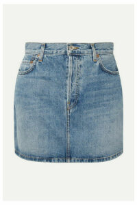 RE/DONE - Originals 60s Denim Mini Skirt - Mid denim