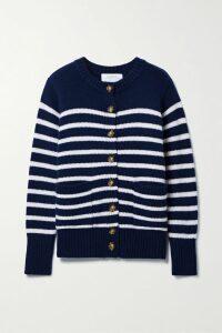 Stella McCartney - + Net Sustain Printed Cape-effect Crepe Midi Dress - Blue