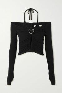 Adam Lippes - Intarsia Merino Wool Sweater - Beige