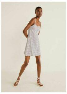 Bicolor ponte dress