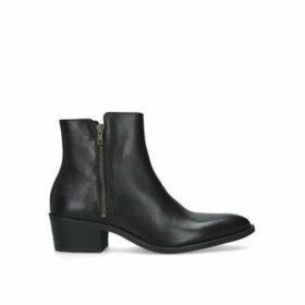 Kurt Geiger London Ross Boot - Men's Black Block Heel Ankle Boots