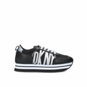 Dkny Panya - Black Low Top Trainers