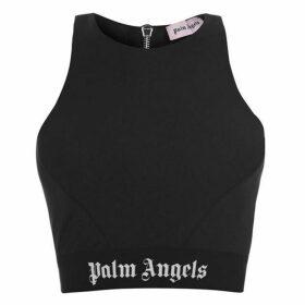 Palm Angels Zip Crop Vest