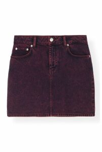 Ganni Washed Denim Port Royale - DK40 Red