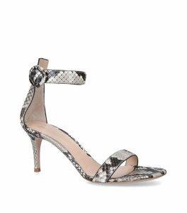 Snakeskin Portofino Sandals 70