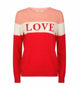 Cashmere Slogan Sweater
