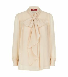 Silk Sheer Blouse