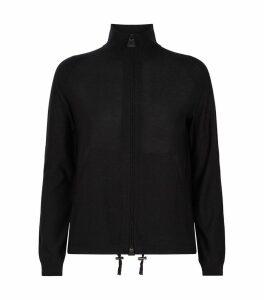 Shimmer Zip Cardigan