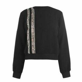 Just Cavalli Snakeskin Sweatshirt