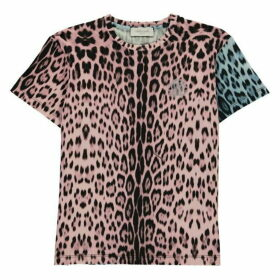 Roberto Cavalli Leopard T Shirt