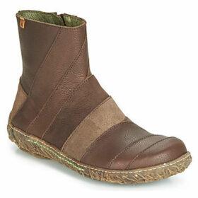 El Naturalista  NIDO  women's Mid Boots in Brown