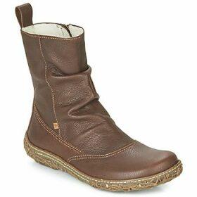 El Naturalista  NIDO TRAMBU  women's Mid Boots in Brown