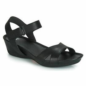 Camper  MICRO  women's Sandals in Black
