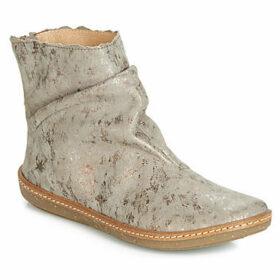 El Naturalista  CORAL  women's Mid Boots in Grey
