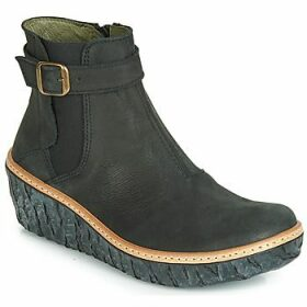 El Naturalista  MYTH YGGDRASIL  women's Low Ankle Boots in Black