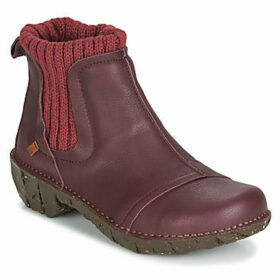 El Naturalista  YGGDRASIL  women's Mid Boots in Red