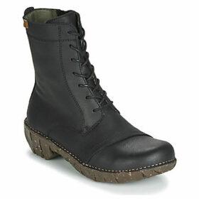 El Naturalista  YGGDRASIL  women's Mid Boots in Black