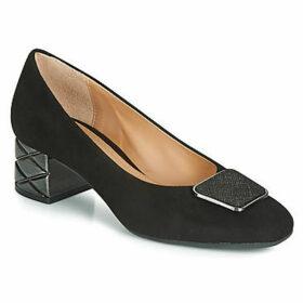 Perlato  11319-CAM-NOIR-NECHI-NOIR  women's Court Shoes in Black