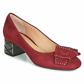 Perlato  11320-CAM-ROUGE  women's Court Shoes in Red