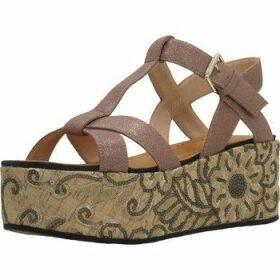 Elvio Zanon  H0804P  women's Sandals in Brown