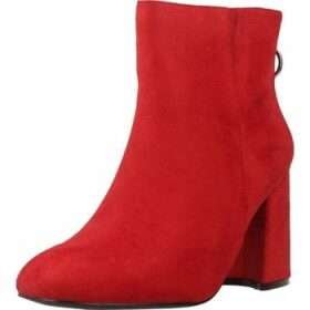 Be Different Be Yellow  AKUMA  women's Low Ankle Boots in Red