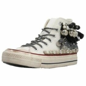 Movie's  F13 16  women's Shoes (High-top Trainers) in White