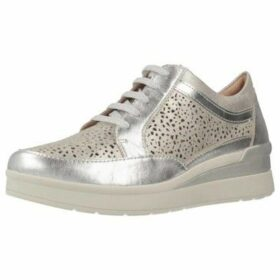 Stonefly  CREAM 11  women's Shoes (Trainers) in Silver