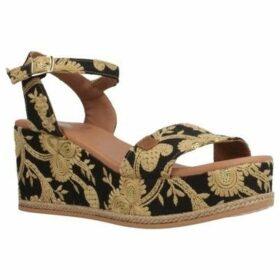 Menorquinas Popa  155006P  women's Sandals in Black