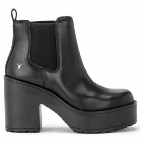 Windsor Smith  Tronchetto Rari in pelle nera  women's Low Ankle Boots in Black