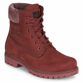 Panama Jack  PANAMA  women's Mid Boots in Red