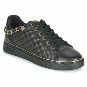 Guess  BRISCO  women's Shoes (Trainers) in Black