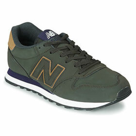 New Balance  500  women's Shoes (Trainers) in Green