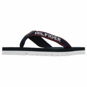 Tommy Hilfiger  SPORTY FLAT BEACH SANDAL  women's Flip flops / Sandals (Shoes) in Blue