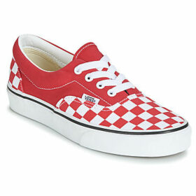 Vans  ERA  women's Shoes (Trainers) in Red