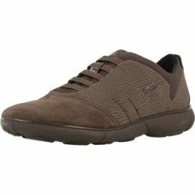 Geox  D NEBULA B  women's Shoes (Trainers) in Brown