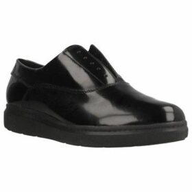 Geox  D JERRICA  women's Loafers / Casual Shoes in Black