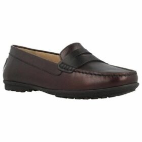 Geox  D ELIDIA  women's Loafers / Casual Shoes in Purple