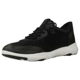 Geox  D NEBULA X  women's Shoes (Trainers) in Black