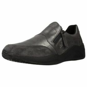 Geox  D OMAYA  women's Slip-ons (Shoes) in Grey